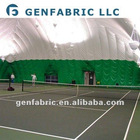 Big temporary sports tent