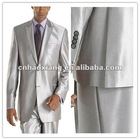 Best selling silver wedding suit hy424