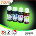 Universal Dye Ink For Epson Ink Cartridge 100ml BK/C/M/Y (Bulk Ink/Refill Kit)