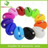 Egg Design Audio Dock Silicone Wireless Loud-Speaker For iPhone 4