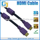HDMI Cable 1080P, Metal Shell HDMI Cable, High Quality HDMI Cable, Support 1080p 3D