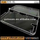 Hot Clear For 3DS XL Crystal Protective Case
