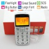 Elderly-Specific Phone, The Best Gift to Give Parents,SOS Call/MF Radio/LED Flashlight/Big Button/Large Font/Love Gifts
