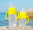 8.5oz Silicone Baby feeding bottlers/nursing bottle/baby milk bottles