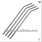 Wholesale bend Stainless steel drinking straw/Stainless steel straws/metal straw