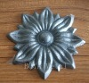 Home & Garden Decorative Cast Steel Flower Component
