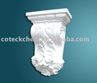 hand-carved corbel