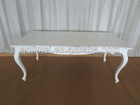 Antique White Dining Table Dining Furniture