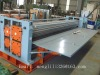 Corrugated roof tile forming equipment