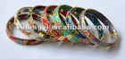 cloisonne bangle set of 7 pcs