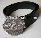metal engraving belt buckle (A-513)