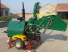 Wood chipper/shredder with 40HP CE/EPA diesel engine