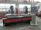 SHG630 Automatic workshop fitting welding machine suit for welding tee elbow cross and Y shape hdpe pipe fittings