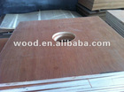 packing commercial plywood with holes