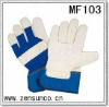 Cowhide split working glove