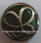 20mm Plating Zinc Alloy Jeans Button with Butterfly Logo in Lovely Style