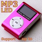 4GB LCD metal mini clip mp3 player with screen