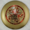 175g Professional Ultimate Frisbee/Sport discus Five Star Orange