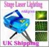 Projector Holographic Laser Star Stage DJ Lighting Min UK shipping red and green