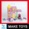 2012 New item kids plastic villa toys series