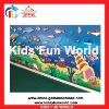 2012 Popular hot sale children sea world pattern climbing wall(KFW-C2001)