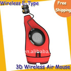 Mini Wireless Mouse--2.4G mini 3D wireless air mouse with USB