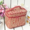Best selling cosmetic bag with clear compartments