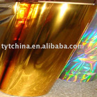 Gold pet metallized film
