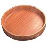bamboo round tray