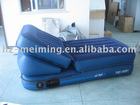 air matress blue with pillow