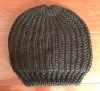 100% acrylic women's beanie custom-made service