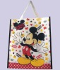 2012 New cartoon design non woven shopping bag