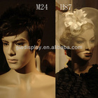 Synthetic fiber classic wig(hard wig) for mannequins in Guangzhou