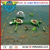 hot summer best project inflatable floating water park