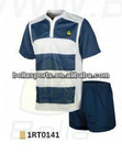 new style fashion Y collar short sleeve customized your cool dry short sleeve rugby kit