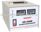 SVC-2000W Single Phase Voltage Stabilizer