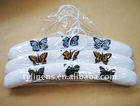 Butterfly embroidery cotton Garment Hanger