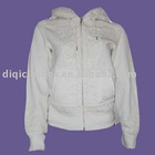 fashion sweatshirts for women with zipper .