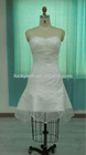 New Arrival Mermaid Real Picture Pure White Organza Evening Dress