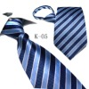 fashion stripe polyester tie