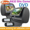 "9"" HD 2 x Headrest Monitor DVD Player Games Erisin ES997D"