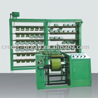 Elastic warping machine