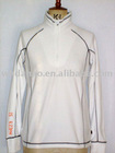ladies' long sleeve 1/2 zipper casual sportwear