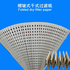 Spray booth Paper filter Folded dry-type filter paper used in spray booth