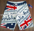 PLACEMENT PRINT AU FLAG BOARDSHORTS