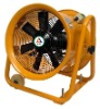high-speed portable fan with wheel