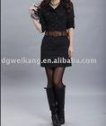Black Sexy Casual Fashion Dress