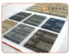 Carpet tile PVC backing commercial carpet sample PP
