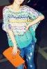 fashion style lady's t-shirt