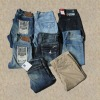 2012 fashion washed denim jeans
